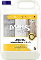 Антисептик Miks универсальный концентрат 1: 4 5 л.