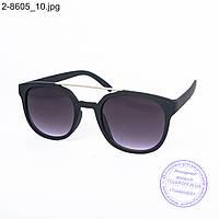 Солнцезащитные очки унисекс - черные - 2-8605, фото 1