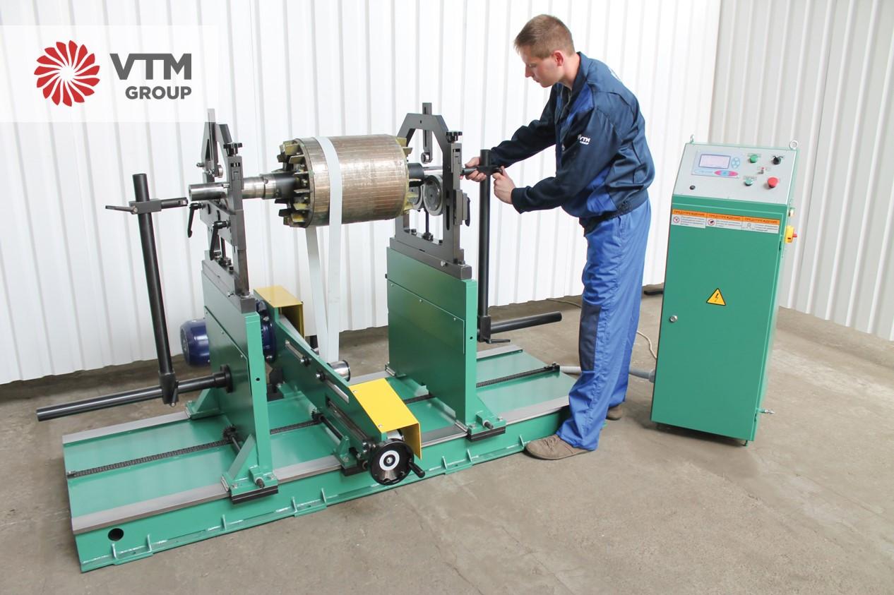 Балансировочный станок для любых роторов | VTM GROUP
