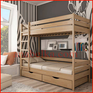 Кровать деревянная  Дуэт (Эстелла)