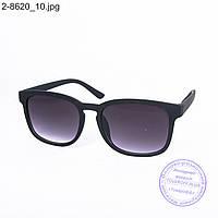 Солнцезащитные очки унисекс - черные - 2-8620, фото 1