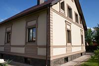 Отделка фасадов декоративной штукатуркой, фото 1