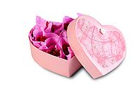 "Подарок в розовой коробке ""Сердце"""