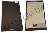 Дисплей (LCD) Asus ZenPad 7.0 (Z370C) с сенсором черный