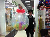 Шар сюрприз - 70 см. 50 шаров. Шар сюрприз Киев. Шар сюрприз с доставкой Киев.