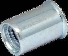 RS-Гайка М 5/0,5-2,0 клепал. глад зм. потай D7 (200шт/уп)