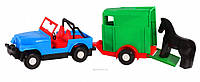 Авто-джип з причепом 39007