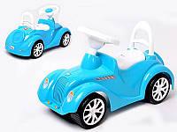 """Детская Машинка-каталка """"Ретро"""", 2 цвета (белая, морская), ТМ Орион, 900"""