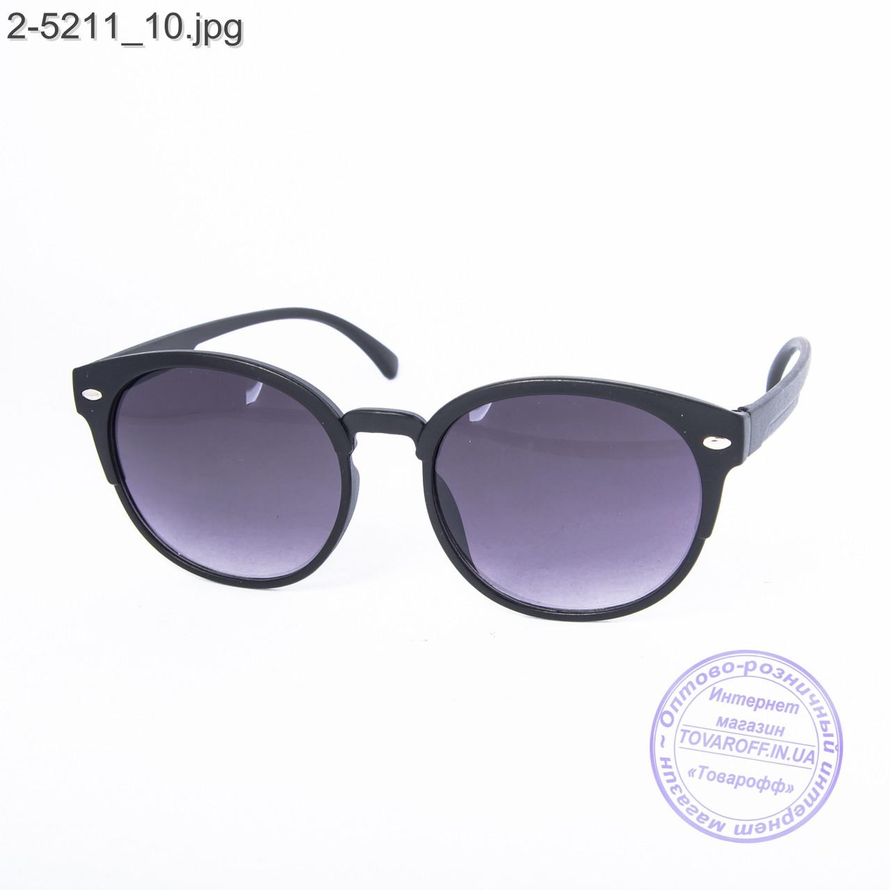 Солнцезащитные очки унисекс - черные - 2-5211