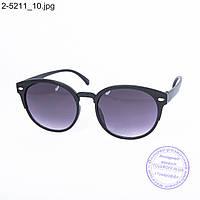 Солнцезащитные очки унисекс - черные - 2-5211, фото 1