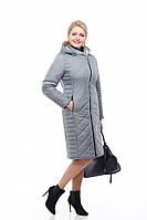 Удлиненное пальто женское Мира батал  рр. 46 - 58, фото 1