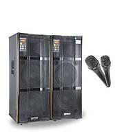 Комплект активной акустики DP-230 /400W с микрофонами