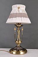 Настольная лампа Colors MТ 38446/1 бронза/ткань