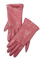Женские перчатки благородного винного оттенка