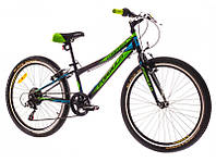 "Велосипед 24"" Formula COMPASS 14G Vbr рама-12"" St черно-зелен. 2017"