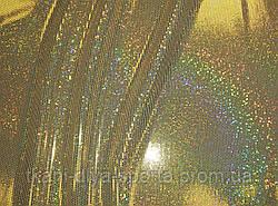 Бифлекс с лазерной голографией золотой