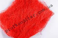 Сизаль цвет Красный