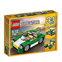 Конструктор LEGO Creator Зеленый кабриолет 122 детали (31056)