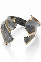 Медный браслет оригинальной формы