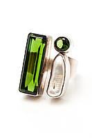 Серебряное стильное кольцо из серебра 925 пробы
