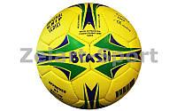 Мяч футбольный №5 Гриппи 5сл. BRASIL FB-0047-3689 (№5, 5 сл., сшит вручную)