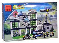 """Конструктор Brick 110 """"Штаб полиции"""""""
