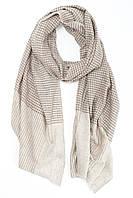 Бежевый шарф из кашемира