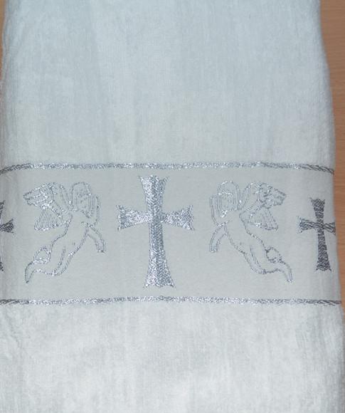 """Полотенце для крещения """"Серебро"""""""