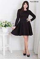 Стильное Платье  ПЛ3-308 (р.44-50)