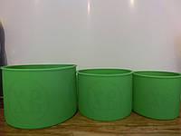 Формы для выпечки пасхи силиконовые 3 шт набор