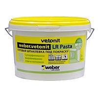 Готовая шпаклевка Weber Vetonit LR pasta, , 20 кг