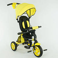 Велосипед детский 3-х колёсный 668 Best Trike,желтый