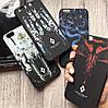 Фирменный чехол Marcelo Burlon на iPhone 6Plus 6sPlus