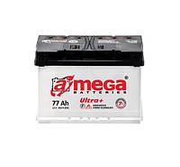 Аккумулятор A-MEGA ULTRA +(M7) 6СТ-77-А3