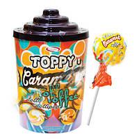 Сатурн Топпи Карамель конфета на палочке