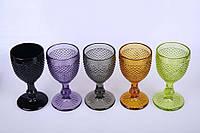Бокал цветное стекло
