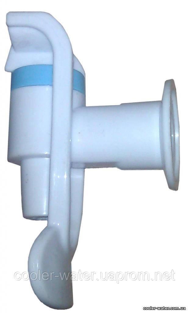 Кран холодної води без гайки (білий)