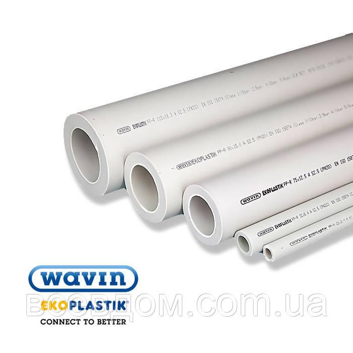 Полипропиленовая труба Wavin Ekoplastik 25x3.5 PN 16