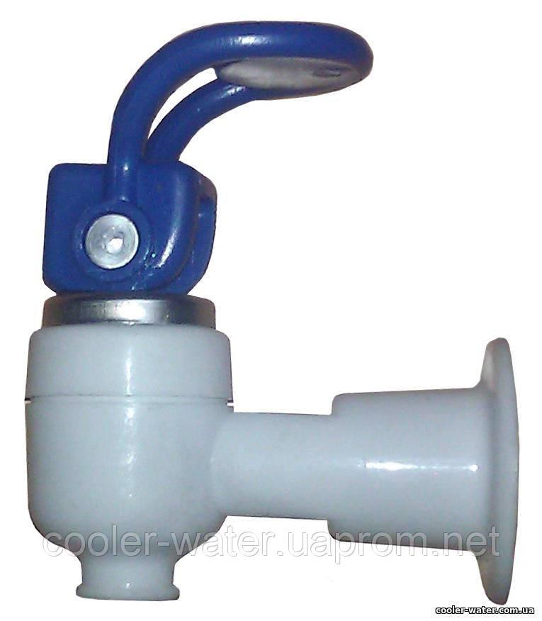 Кран холодной воды без гайки (верхний нажим)