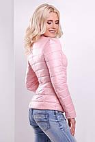 Весенняя женская короткая куртка нежно-розовый 50 размер  продажа ... e271ae9b4fe