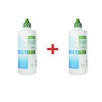 Раствор для линз Multison 375 мл - 2 шт