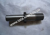 Вал привода переднего моста выходной L-143mm, Z-19/28 Foton 244, Jinma 244/264