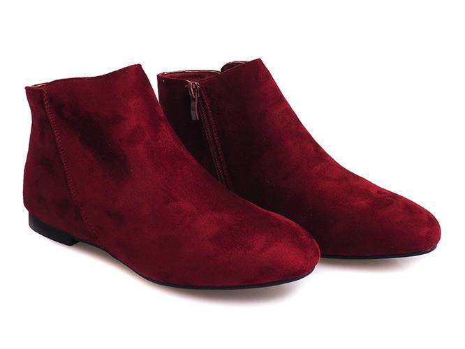 Женские ботинки Tanner bordo