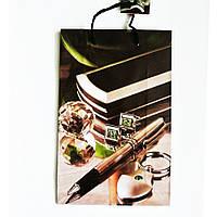 Подарочный пакет 16х25х7 СРЕДНИЙ УЗКИЙ Дорогие аксессуары