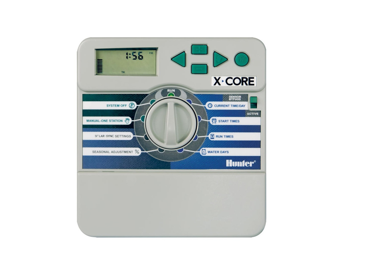 Контроллер X-CORE XC-401i-E на 4 зоны для внутренней установки с трансформатором  П