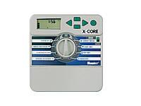 Контроллер X-CORE XC-401i-E на 4 зоны для внутренней установки с трансформатором (пульт управления автоматическим поливом)