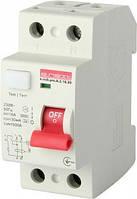 Выключатель дифференциального тока e.rccb.pro.A.2.16.30, 2р, 16А, 30мА