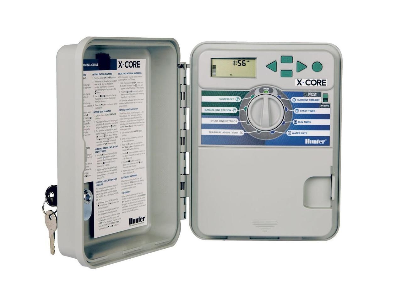 Контроллер X-CORE XC-601-E на 6 зон для наружной установки с трансформатором П