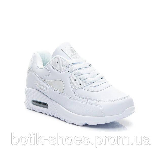 Женские белые кроссовки Nike Air Max 90 Найк Аир Макс 90, реплика Rapter  B733- 51b271ec389