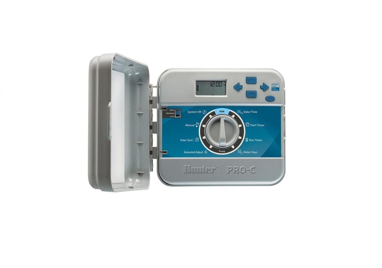 Контроллер  РСС-1201-E на 12 зон  для наружной установки с трансформатором (пульт управления автоматическим поливом)